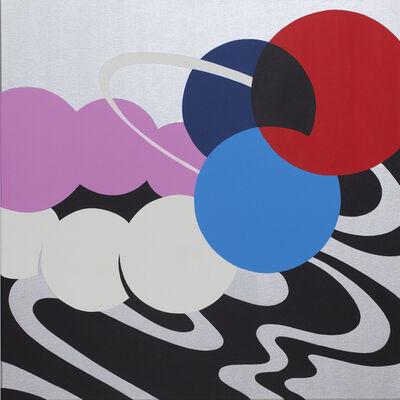 Moritz Green, 'Chrom Quadrat V', 2020