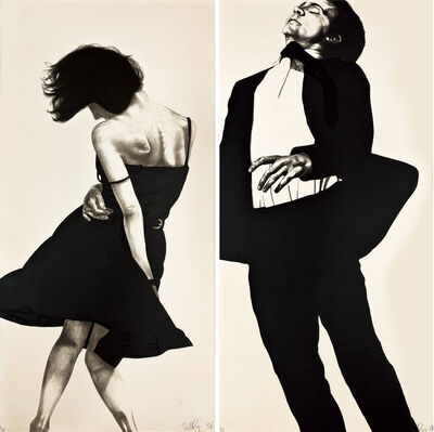 """Robert Longo, 'Meryl and Jonathan from the series """"Men in the Cities""""'"""