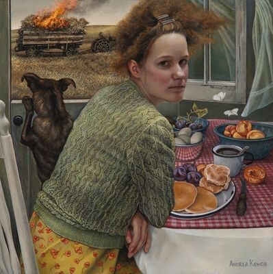 Andrea Kowch, 'Flame (Limited Edition Hand Signed Print)'