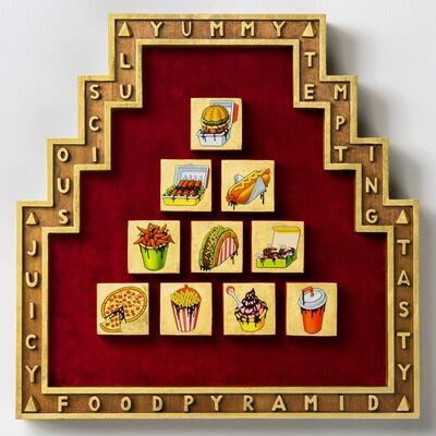 Aleksandar Todorovic, 'Fast Food Pyramid', 2019