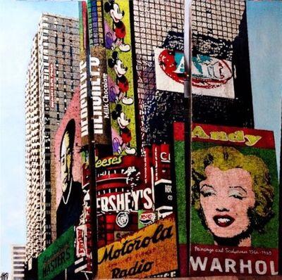 Fabienne Arietti, '(ATH) Pop Art NYC', 2017