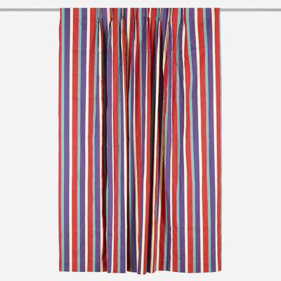 Alexander Girard, 'Tristripe curtain', 1961