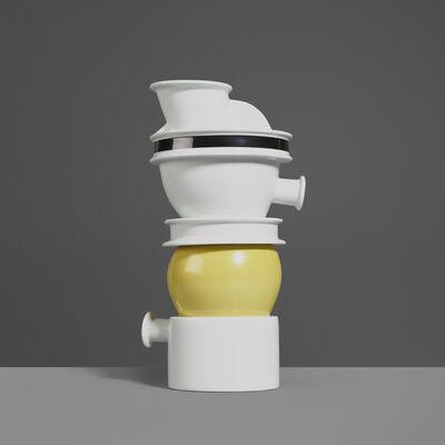Ettore Sottsass, 'Euphrates Vase', 1983