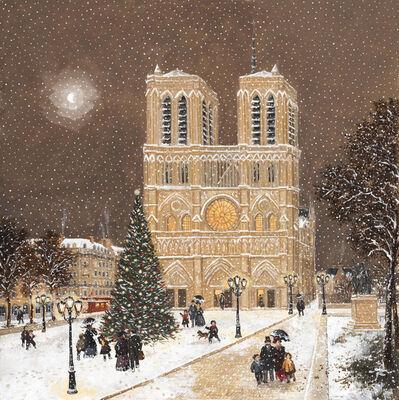 Fabienne Delacroix, 'Notre Dame de Paris l'hiver', 2019
