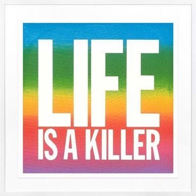 John Giorno, 'Life is a Killer', 2017