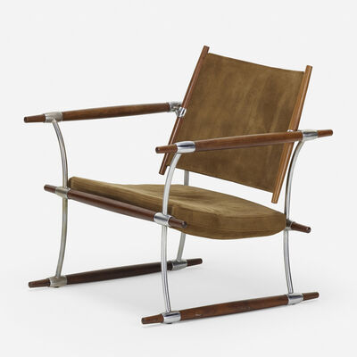 Jens H. Quistgaard, 'Stokke lounge chair', 1960
