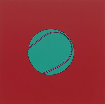 Michael Craig-Martin, 'Untitled (tennis ball)', 2014