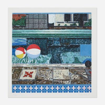 Jennifer Losch Bartlett, 'Air: 24 hours 6 P.M.', 1993