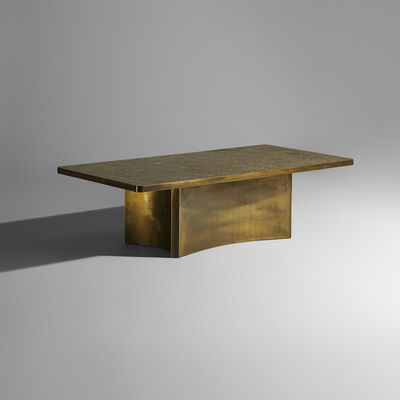 Philip and Kelvin LaVerne, 'Rare Etruscan coffee table', c. 1965