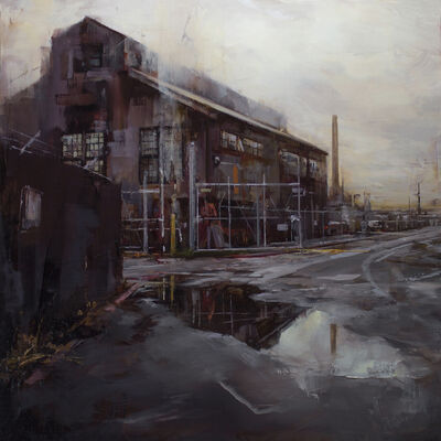 Lindsey Kustusch, 'The Quiet of Old Industry', 2018