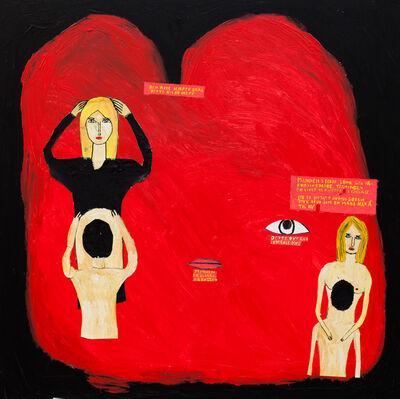Frode Felipe Schjelderup, 'Den Røde Hjerte (The Red Heart)', 2015