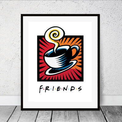 Burton Morris, 'Friends Coffee Break', 2019