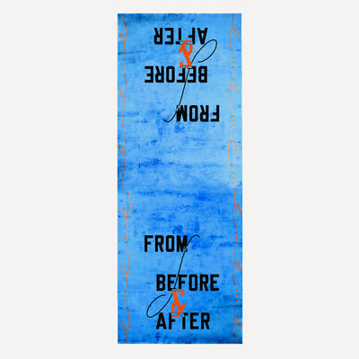 Lawrence Weiner, 'From, Before and After', 2018