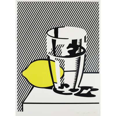 Roy Lichtenstein, 'Untitled (Still Life with Lemon and Glass)  from For Meyer Schapiro', 1974