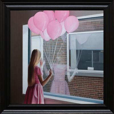 Shaun Downey, 'Rose Balloons II', 2018