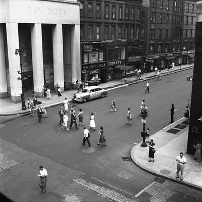 Vivian Maier, 'w00040-12, 1954 Aerial Street Scene ', 2015