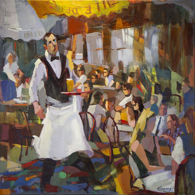 Michael Steirnagle, 'Waiter Abstraction', 2017