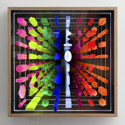 Giles Alexander, 'Spectral Geometric Building Blocks', 2019