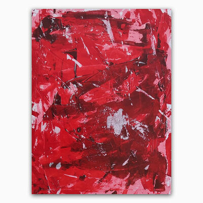 Sofia Zaleskaya, 'Red composition', 2021