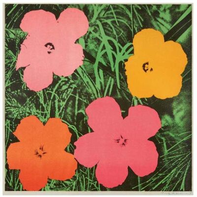 Andy Warhol, 'Andy Warhol 'Flowers' Offset Lithograph, 1964', 1960-1969