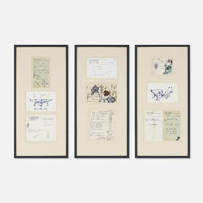 Diego Giacometti, 'collection of nine sketches and ephemera', c. 1964