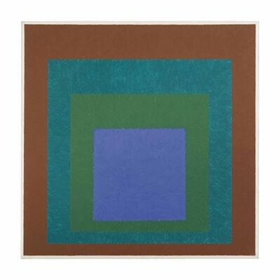 Josef Albers, 'Expanding (Homage to the Square)', 1954