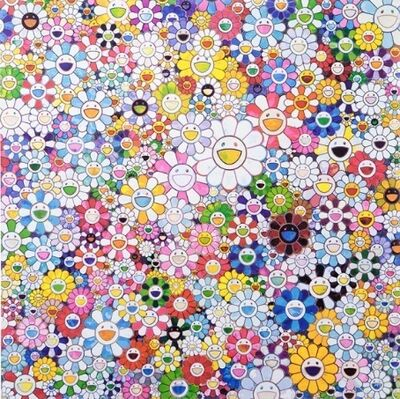 Takashi Murakami, 'When I Close my Eyes, I See Shangri-La', 2016