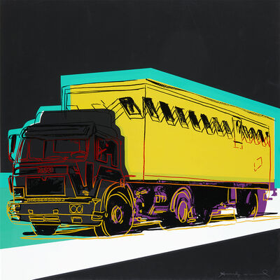 Andy Warhol, 'Truck', 1985