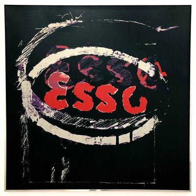 Mario Schifano, 'Untitled (ESSO)', 1973