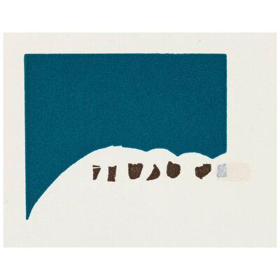 Richard Tuttle, 'Grouse', 1990