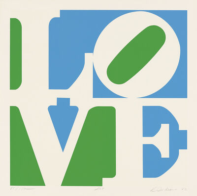 Robert Indiana, 'The Garden of Love (Lily)', 1982