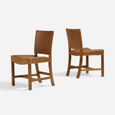 Kaare Klint, 'Barcelona chairs model 3758, pair', 1937