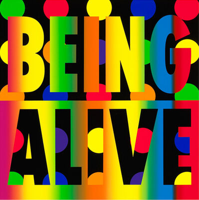 Deborah Kass, 'Being Alive', 2012