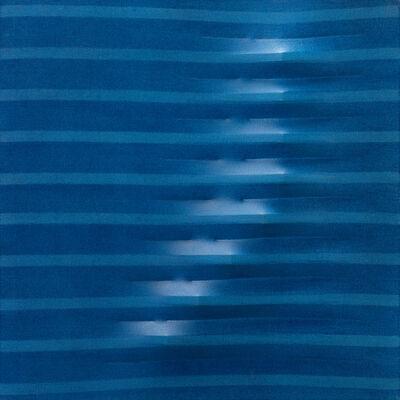 Agostino Bonalumi, 'Blu', 1976