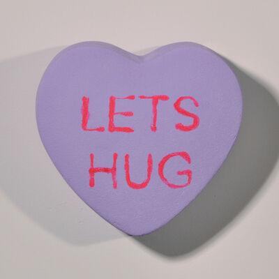 Peter Anton, 'LET'S HUG - Conversation Candies - Purple', 2019