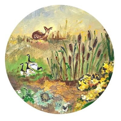 Richelle Gribble, 'Ecosystem XI', 2016