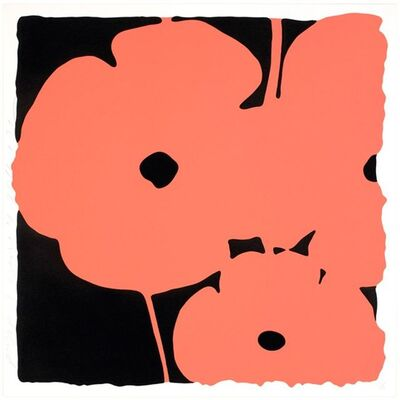 Donald Sultan, 'Poppies, June 4, 2011 (Coral)', 2011