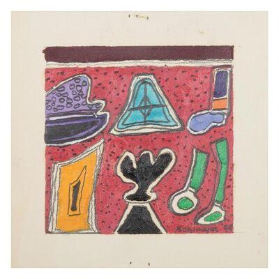 Ida Kohlmeyer, 'Tiny 94-15 and Tiny 94-16', 1994
