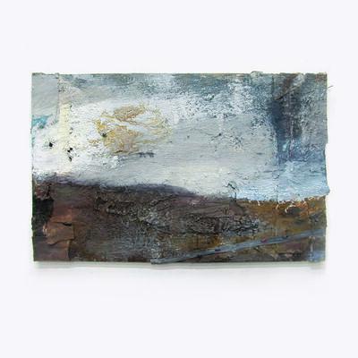 Andrew Hardwick, 'Moor, White Sky & Sheep', 2018