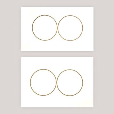Felix Gonzalez-Torres, 'Double-Portrait (set of 2)', 1991