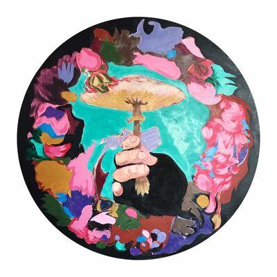 Mads Rafte Hein, 'Relief-I-Mushroom', 2020