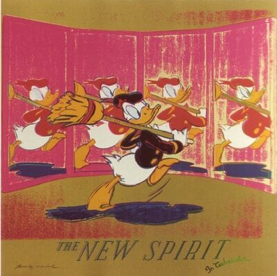 Andy Warhol, 'Ads: The New Spirit (Donald Duck), 1985', 1985