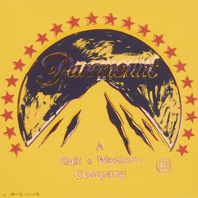 Andy Warhol, 'Paramount TP (Unique Trial Proof), from the Ads Series', 6379