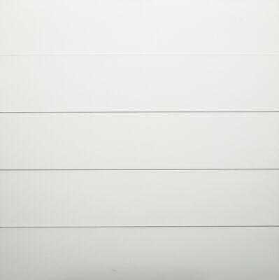 Sandro de Alexandris, 'Ripartizione orizzontale a intervalli di tempo uguali i-5/4', 1973