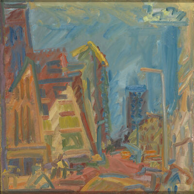 Frank Auerbach, 'Mornington Crescent - Summer Morning', 2004
