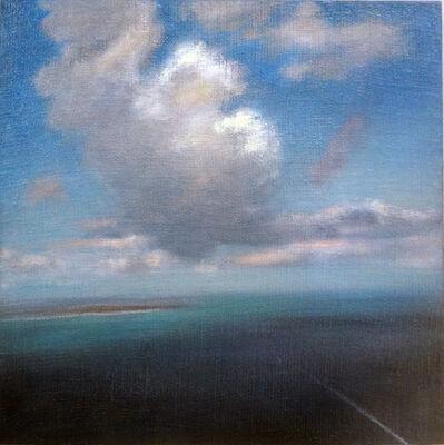 Adam Straus, 'Aerial W/ Boat Wake', 2015