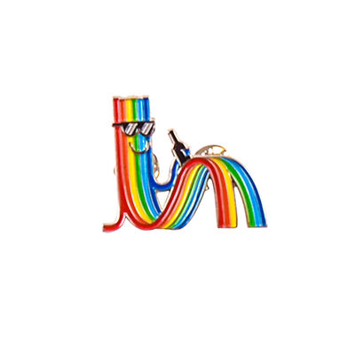 Paul Insect, 'RAINBOW GUY PIN', 2019