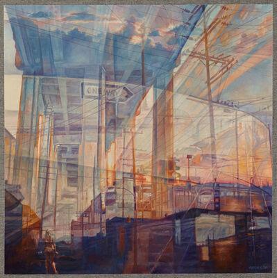 thomas garner, 'Under the 6th Street Bridge', 2020