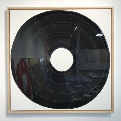 Ted Collier, 'Circle Series 4 (Black/LP Record)', 2019