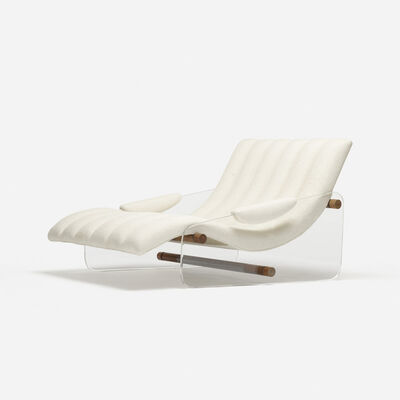 Attributed to Fabio Lenci, 'lounge chair', c. 1967